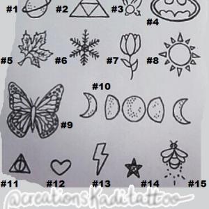 tatouage petit uv