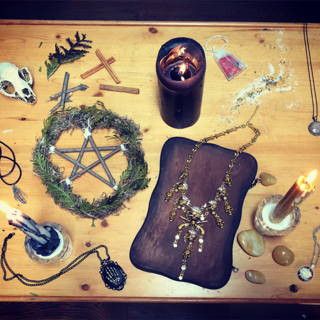 wicca magik witch protection