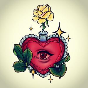 parfum rose jaune